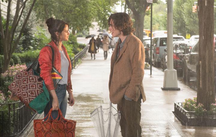 Chan e Gatsby em Um Dia de Chuva em Nova York