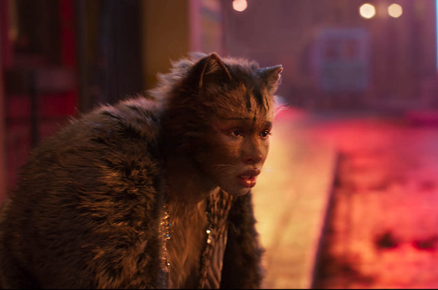 Jennifer Hudson em cena de Cats