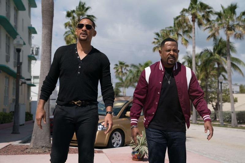 Will Smith e Martin Lawrence em cena de Bad Boys Para Sempre