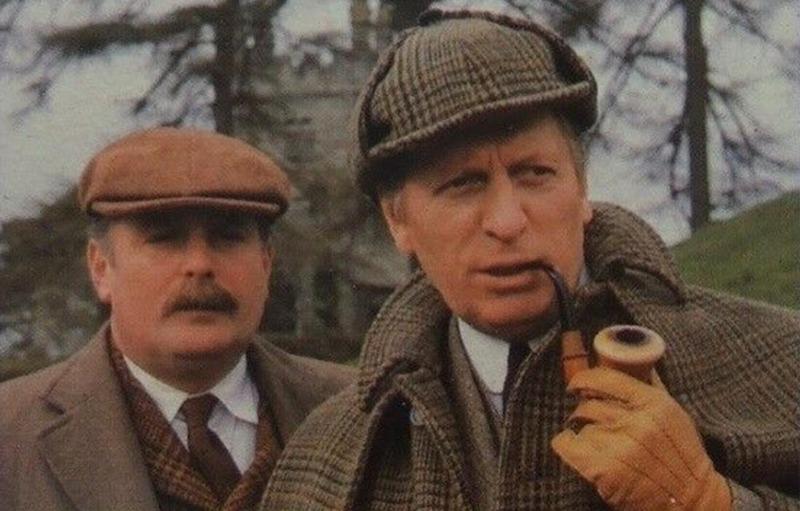 O Cão dos Baskerville chegou a televisão em 1982