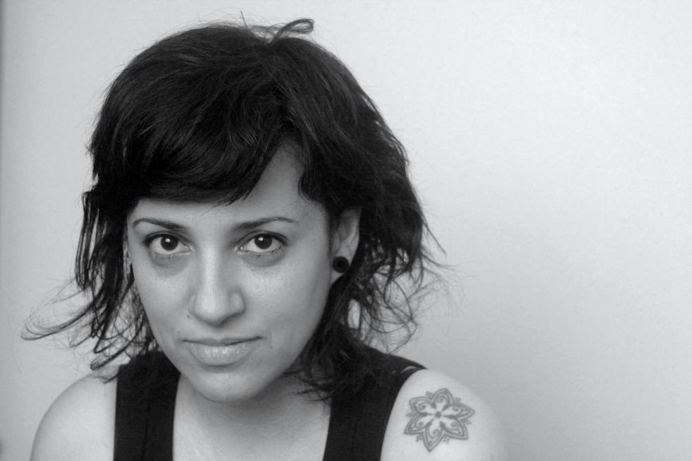 A autora, Cristina Judar
