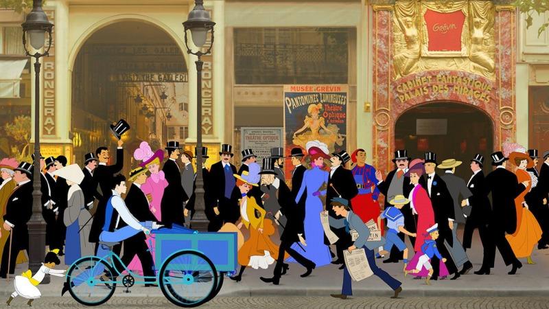 O filme Dilili em Paris se passa na Belle Epoque