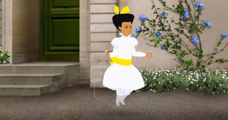 A protagonista de Dilili em Paris