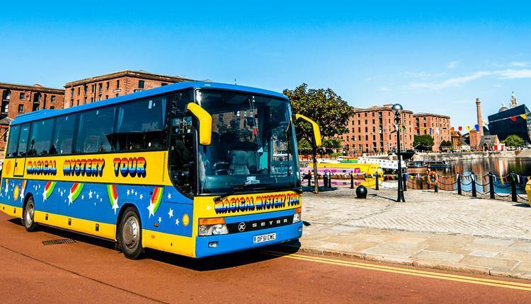 O Magical Mystery Tour de Liverpool