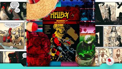 Photo of Hellboy no México, publicado por Mythos HQs