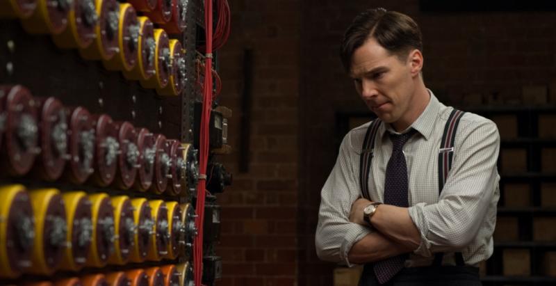 Benedict Cumberbatch como Alan Turing
