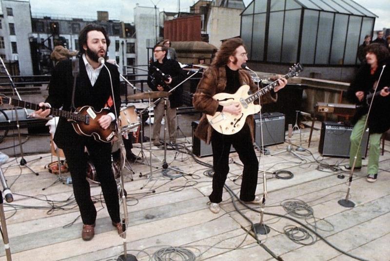 O último show dos Beatles em Let It Be