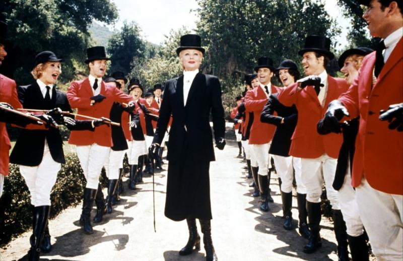 Lucille Ball em cena do filme