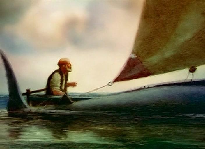 Cena da animação de 1999