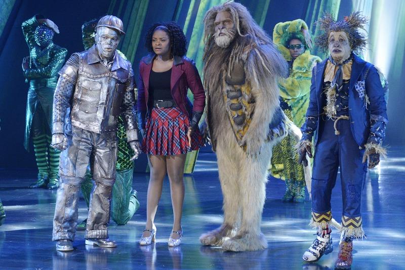 O Homem de Lata, Dorothy, o Leão e o Espantalho