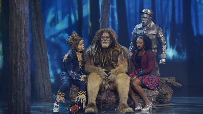 The Wiz Live! tem praticamente a mesma trama de O Mágico de Oz