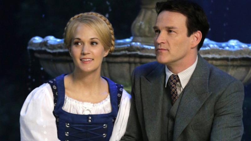 Maria e o Capitão von Trapp em A Noviça Rebelde ao Vivo!