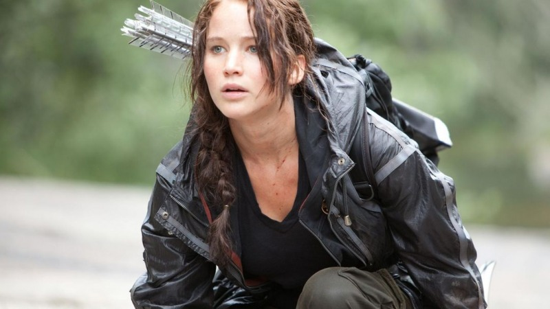 Jennifer Lawrence como Katniss