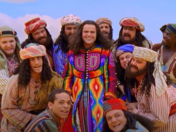 Joseph and the Amazing Technicolor Dreamcoat é voltado para o público infantil