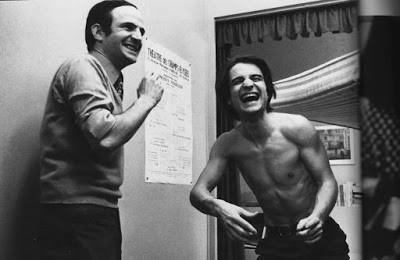 Truffaut e Jean-Pierre Léaud