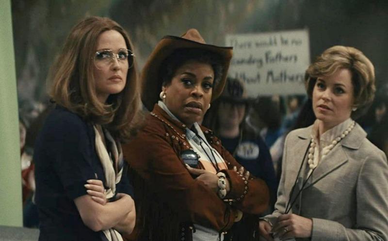A série mostra a oposição entre as feministas e os grupos conservadores