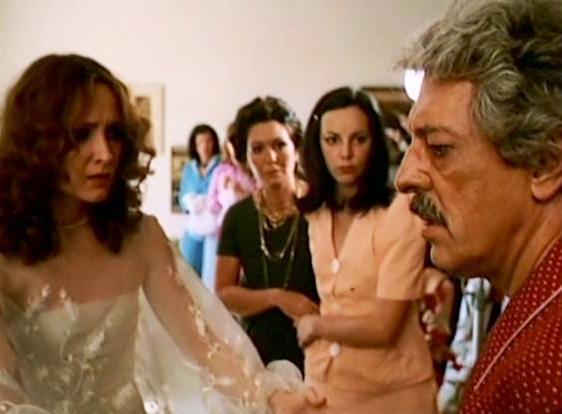 Cena do filme de 1975 - O Casamento