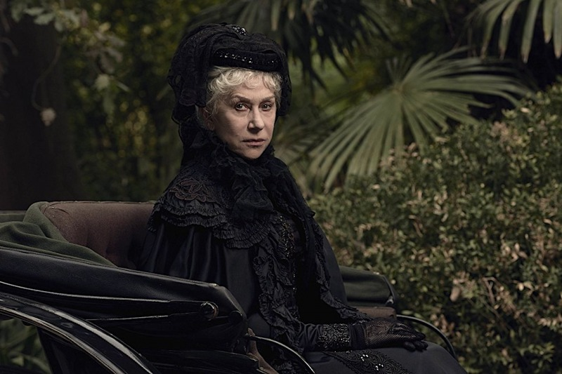 Helen Mirren como Sarah Winchester