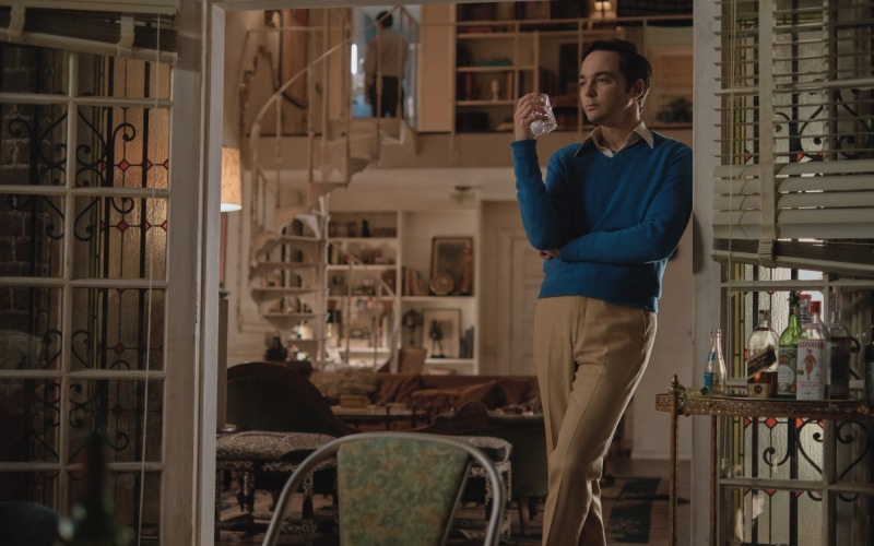 Jim Parsons como Michael em The Boys in The Band