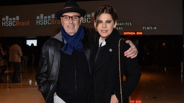 Hector Babenco e Bárbara Paz