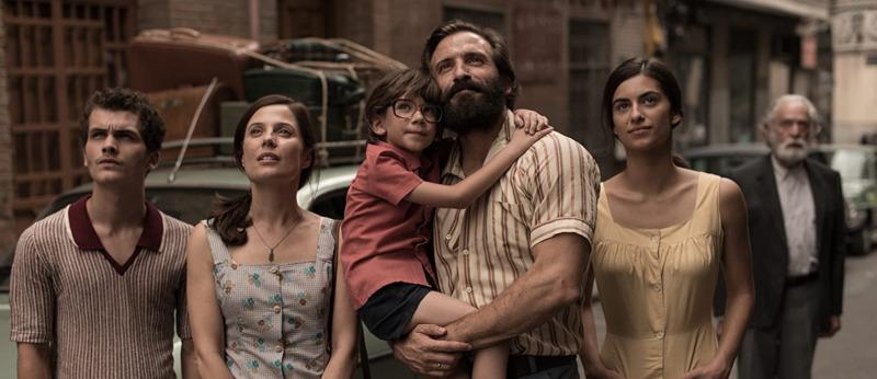 A família Jiménez chega a Madri - O 3º andar