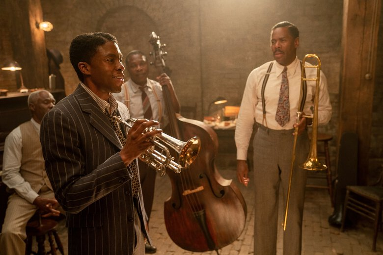 Chadwick Boseman entrega uma grande atuação