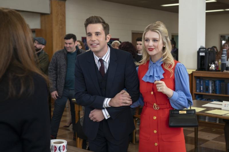 Payton e Alice em The Politician (2ª temporada)