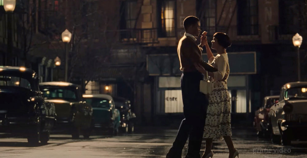 O filme retrata o romance do casal durante anos