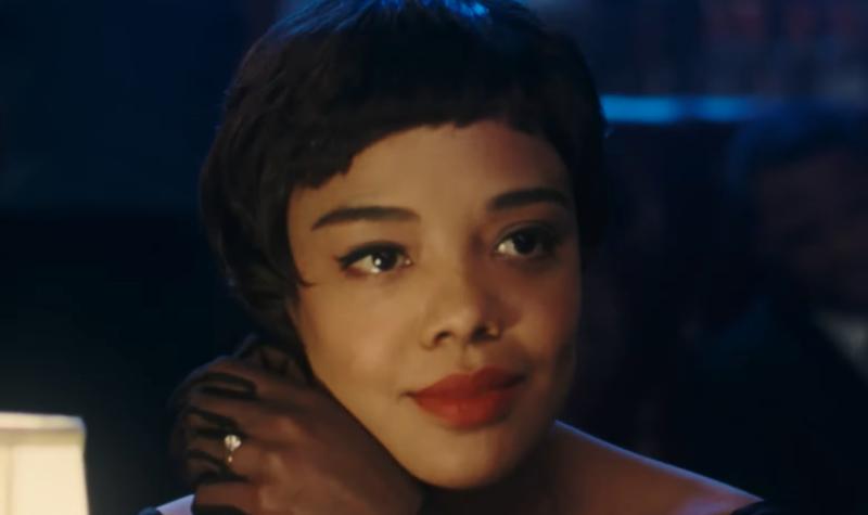 Tessa Thompson em cena de O Amor de Sylvie