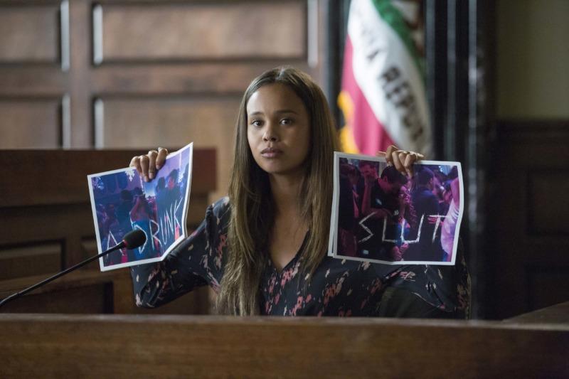 Alisha Boe como Jessica Davis em 13 Reasons Why
