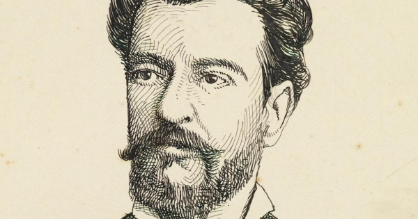 Retrato de Bernardo Guimarães - O Seminarista