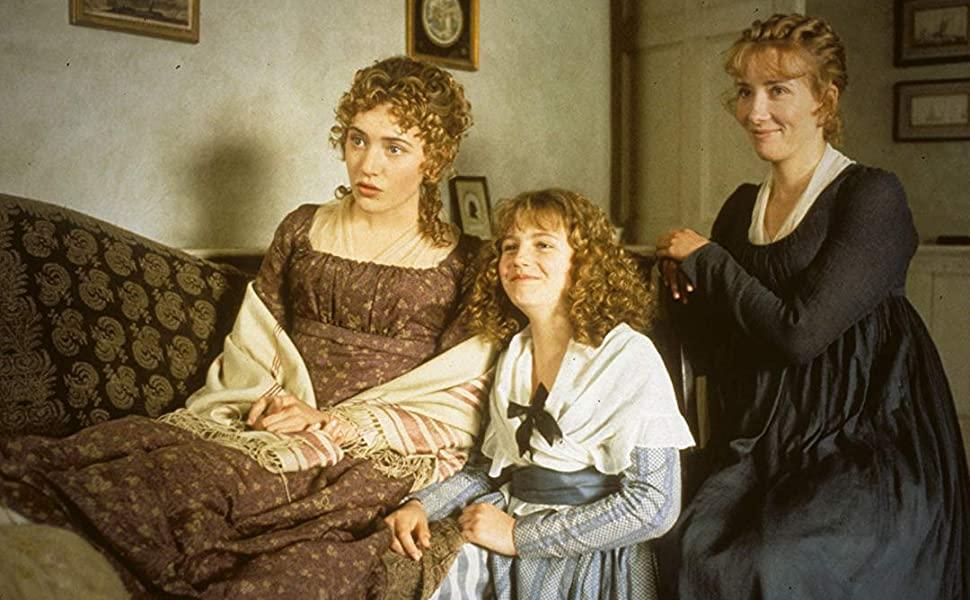 As irmãs Dashwood no filme de 1995