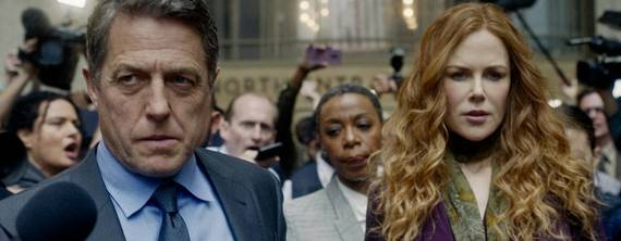 Hugh Grant e Nicole Kidman em cena de The Undoing