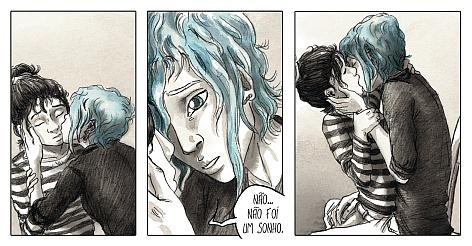 O quadrinho acompanha a relação de Clementine e Emma
