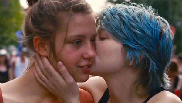 Cena do filme de 2013 - Azul é a Cor Mais Quente
