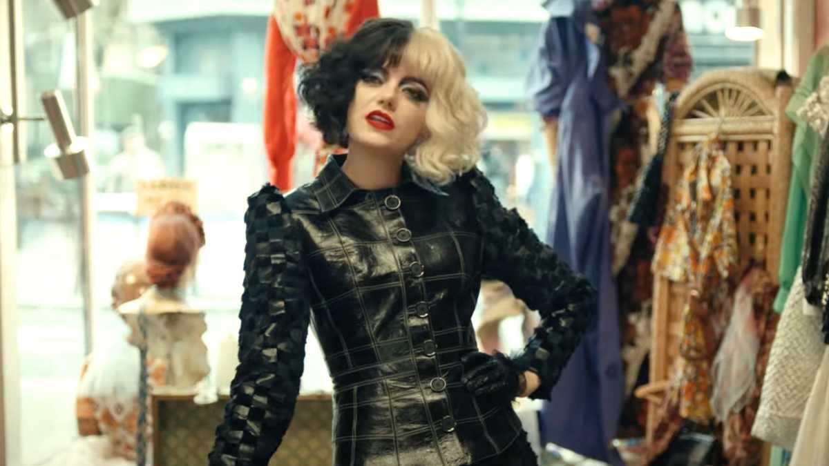 As roupas são inspiradas na moda punk