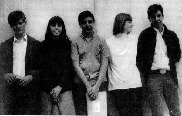 A banda ainda em começo de carreira - A Divina Comédia dos Mutantes