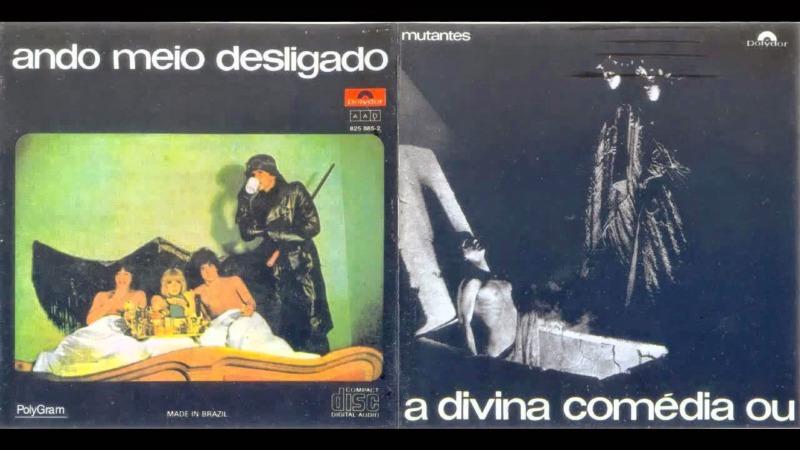 As capas do disco A Divina Comédia ou Ando Meio Desligado