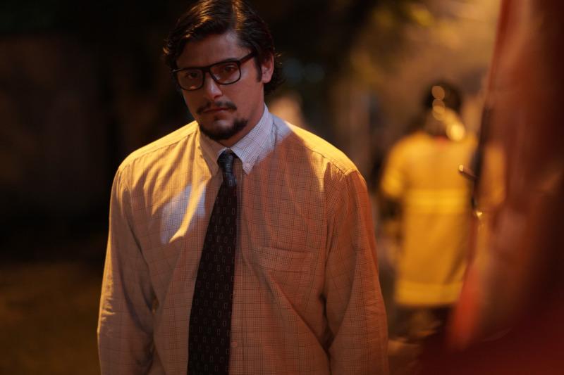 Bruno Gissoni em cena do filme Reação em Cadeia